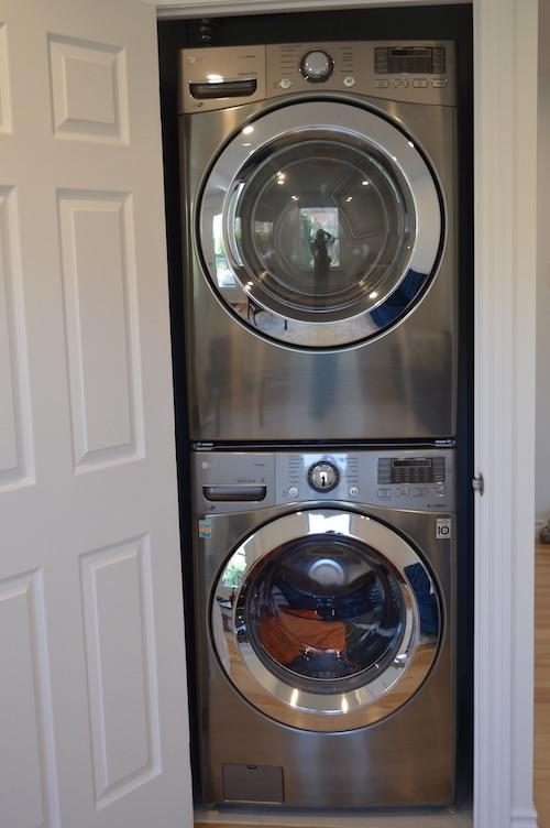 Machine à laver et sèche-linge (utilisation commune)