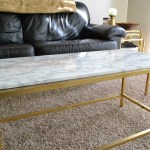 Diy Ikea Vittjo Table Re Hack Marble Edition Lmob Blog
