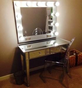 Vanity mirror with lights for bedroom 15