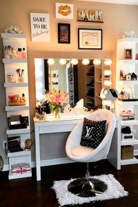 Vanity mirror with lights for bedroom 25