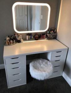 Vanity mirror with lights for bedroom 35