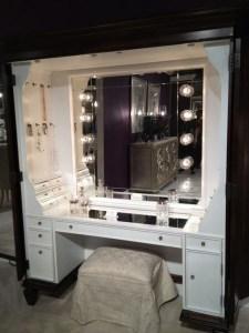 Vanity mirror with lights for bedroom 46