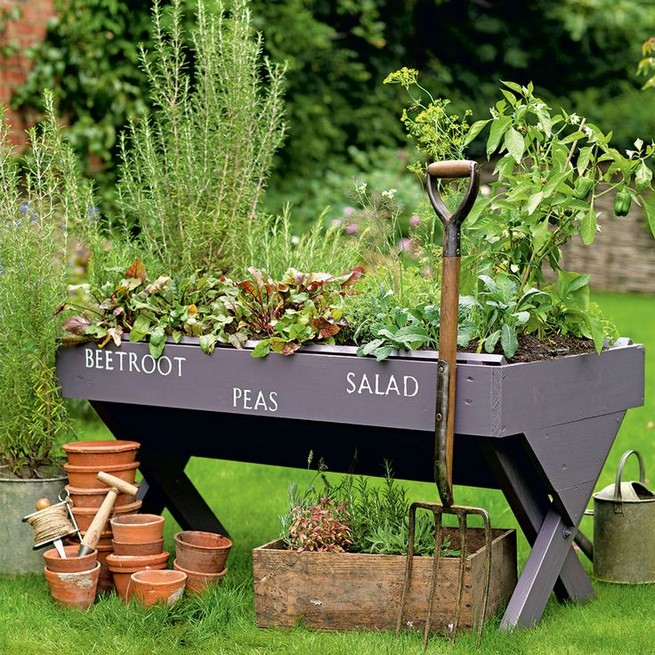 10 Enjoying Garden Ideas On A Budget 28