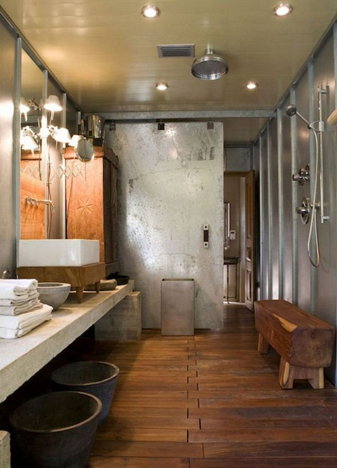 11 Luxurious Wooden Shower Floor Tiles Designs Ideas For Bathroom Remodel 24