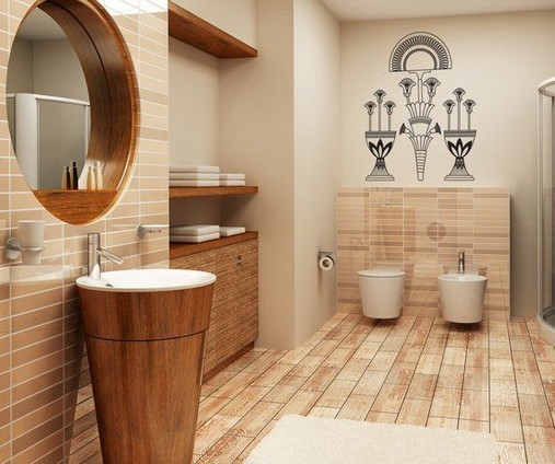 11 Luxurious Wooden Shower Floor Tiles Designs Ideas For Bathroom Remodel 40