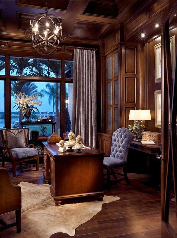 13 Elegant Dark Table Designs Ideas For Home Office 25
