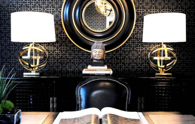 13 Elegant Dark Table Designs Ideas For Home Office 29