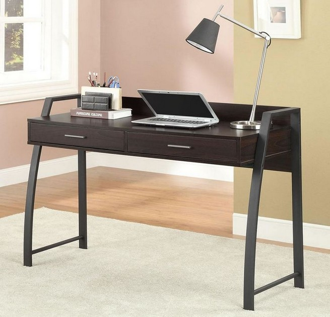 13 Elegant Dark Table Designs Ideas For Home Office 40
