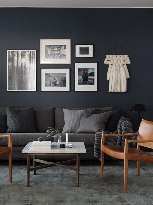 13 Elegant Dark Table Designs Ideas For Home Office 45