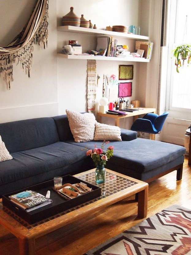 14 Attractive Small Living Room Décor Ideas With Sectional Sofa 46
