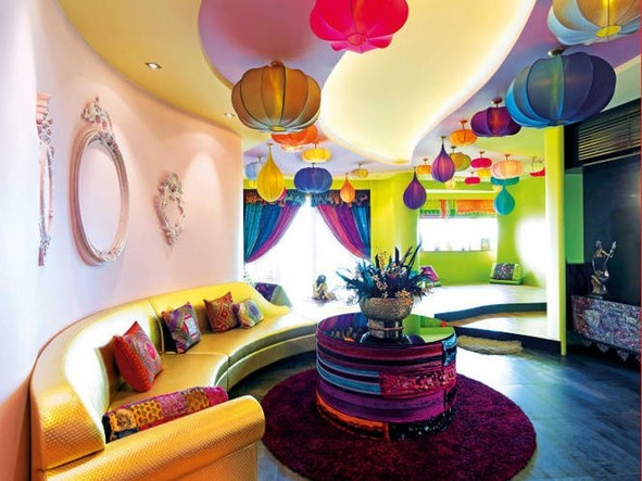 14 Incredible Colorful Bohemian Living Room Ideas For Inspiration 36