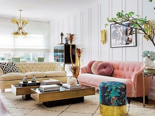 14 Incredible Colorful Bohemian Living Room Ideas For Inspiration 99
