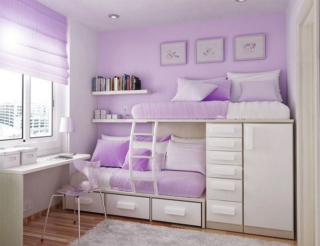 15 Charming Pink Kids Bedroom Design Decorating Ideas 01