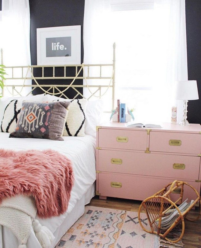 15 Charming Pink Kids Bedroom Design Decorating Ideas 26