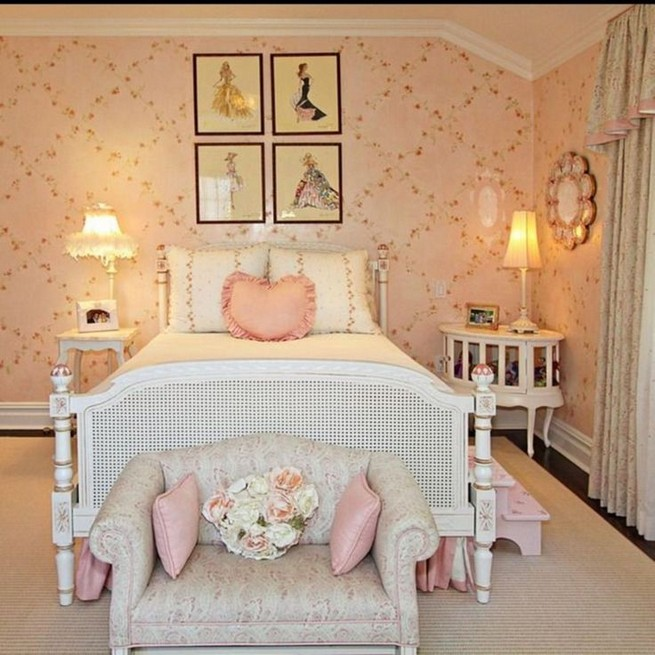 15 Charming Pink Kids Bedroom Design Decorating Ideas 48