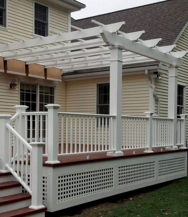 16 Deck Canopy Exterior Remodel Ideas On A Budget 06