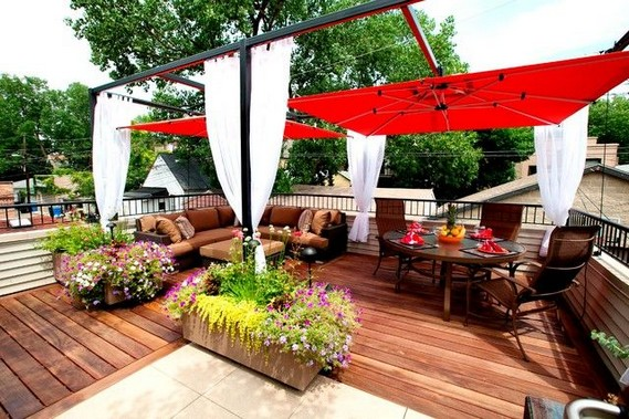 16 Deck Canopy Exterior Remodel Ideas On A Budget 07