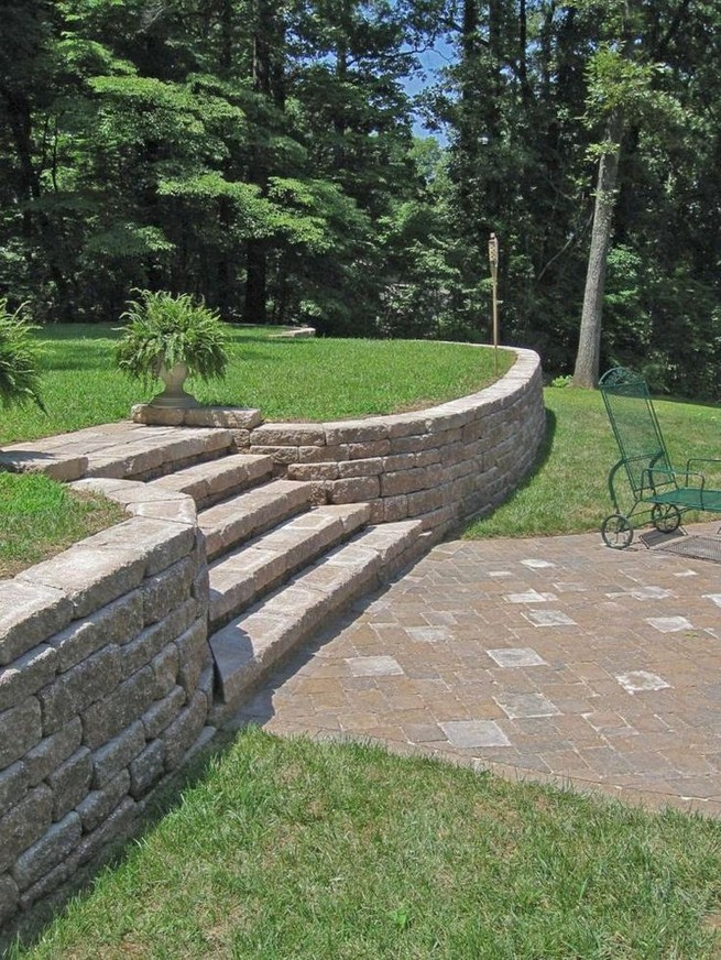 16 Delicate Garden Landscaping Design Ideas Using Rocks Stone 21