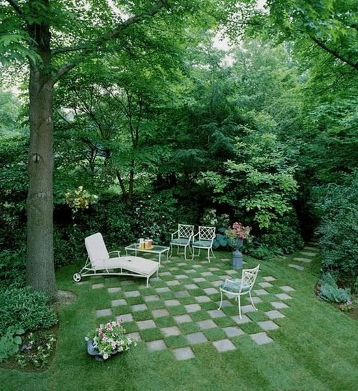 16 Delicate Garden Landscaping Design Ideas Using Rocks Stone 25