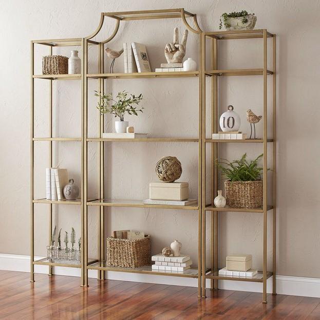 16 Elegant Living Room Shelves Decorations Ideas 38