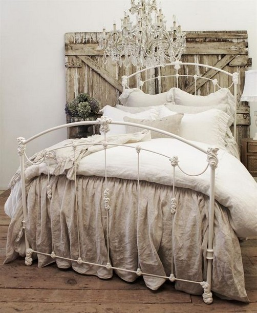 18 Shabby Chic Bedroom Design Ideas 38