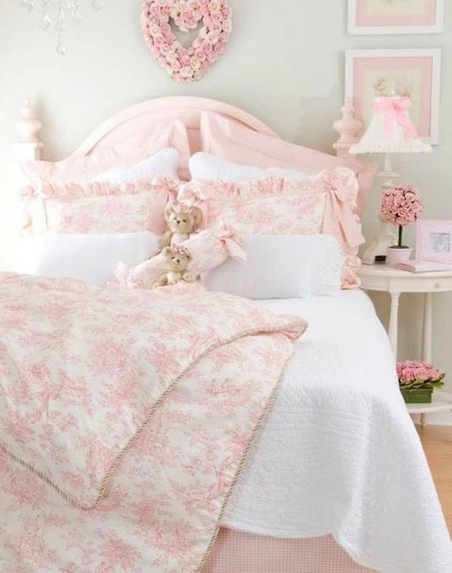 18 Shabby Chic Bedroom Design Ideas 41