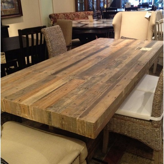 10 Astonishing Extra Large Rectangular Dining Tables Ideas 09