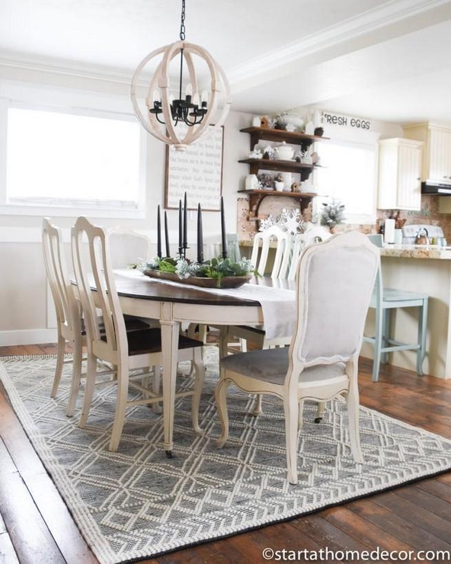 12 Creative Rustic Dining Room Design Ideas 17