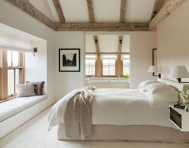 12 Unique Farmhouse Bedroom Remodel Ideas 44