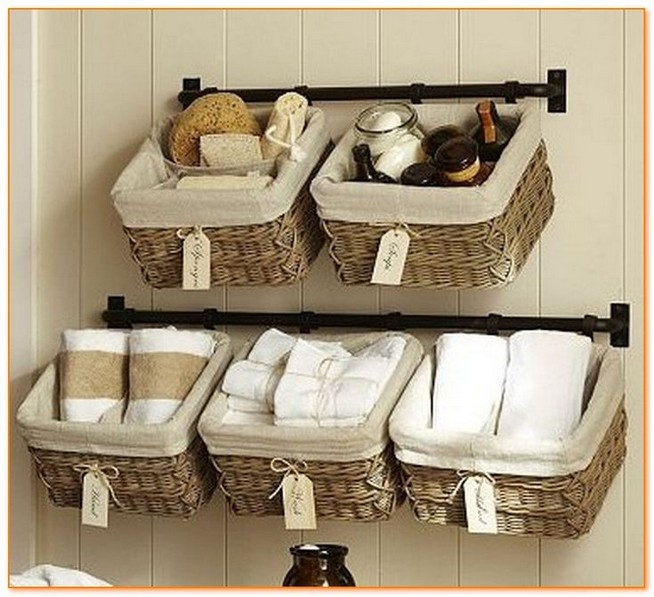 13 Creative Diy Wall Hanging Storage Ideas For Bathroom 23