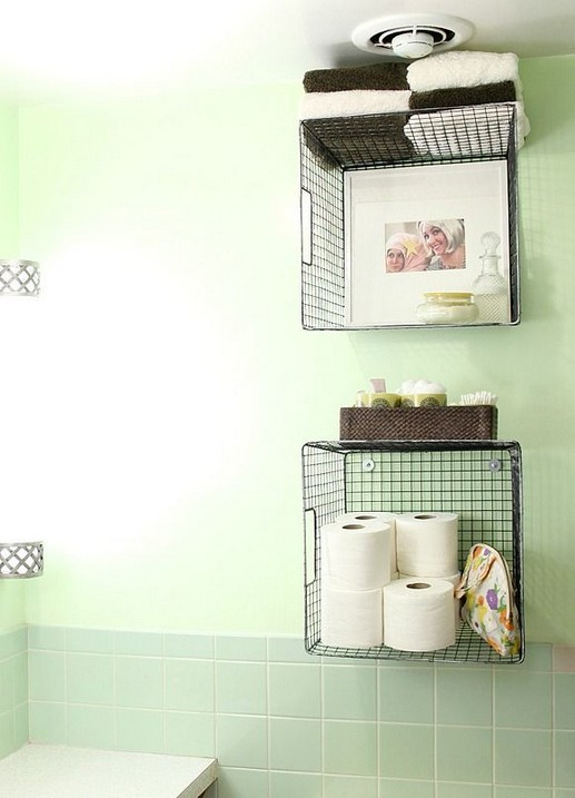 13 Creative Diy Wall Hanging Storage Ideas For Bathroom 47