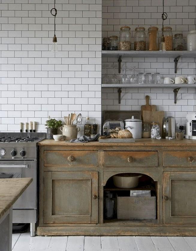 13 Creative Farmhouse Kitchen Decor Ideas 14