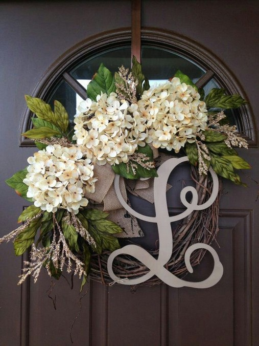 14 Creative Front Doors Decor Ideas 33