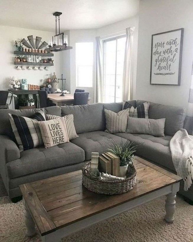 15 Cozy Farmhouse Living Room Decor Ideas 21