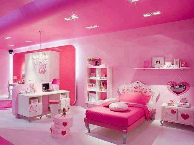 15 Cute Pink Bedroom Designs Ideas That Are Dream Of Every Girl 46