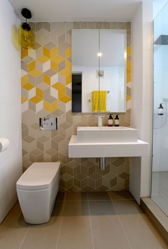 17 Fabulous Small Yet Functional Bathroom Design Ideas 63