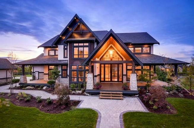 17 Lovely Home Exteriors Design Ideas 19