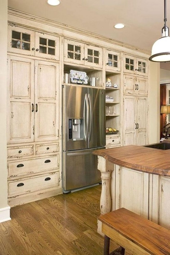 18 Awesome Modern Farmhouse Kitchen Cabinets Ideas 38