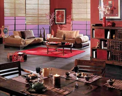 18 Beautiful Chinese Living Room Decor Ideas 13