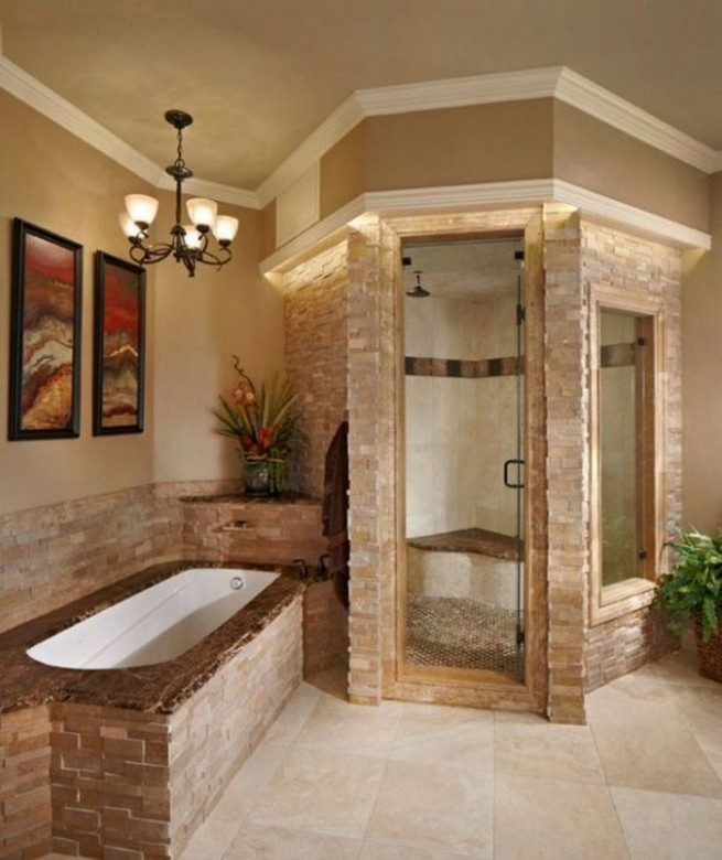 18 Stylish Bathroom Designs Ideas With Addition Of Stone For Elegant Look 05