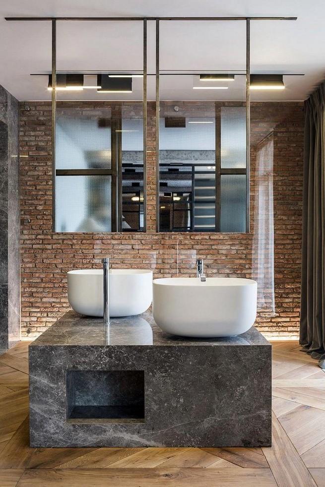 19 Captivating Public Bathroom Design Ideas 47