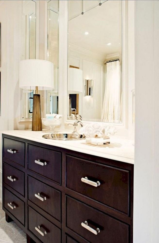 19 Delight Contemporary Dark Wood Bathroom Vanity Ideas 19