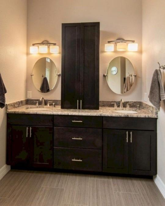 19 Delight Contemporary Dark Wood Bathroom Vanity Ideas 53