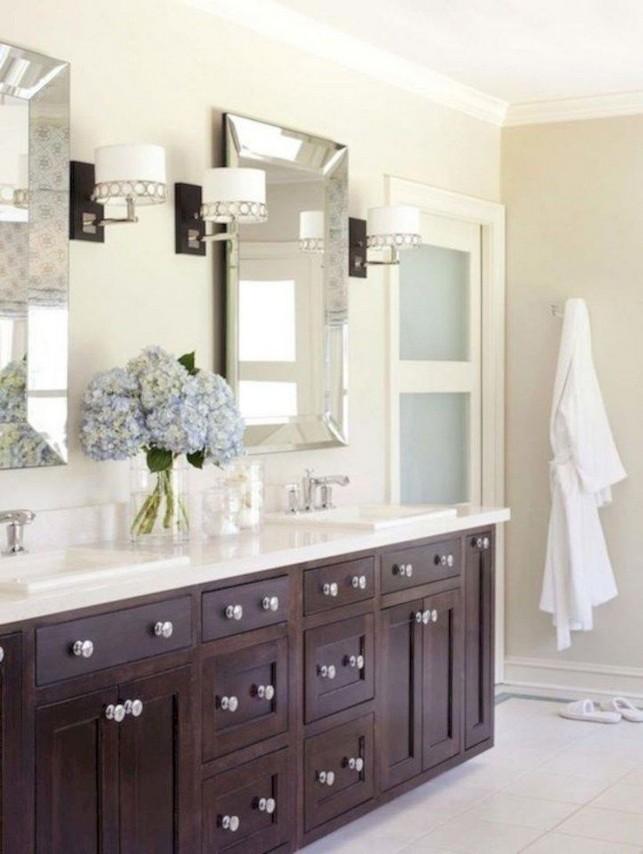 19 Delight Contemporary Dark Wood Bathroom Vanity Ideas 64