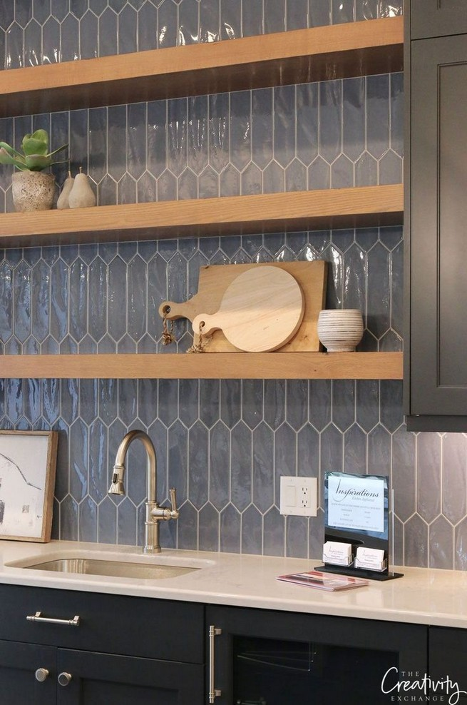 19 Easy Kitchen Backsplash Ideas 28