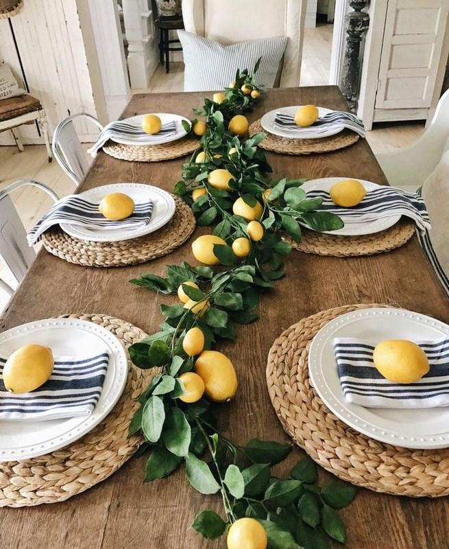 19 Fancy Farmhouse Dining Room Design Ideas 06