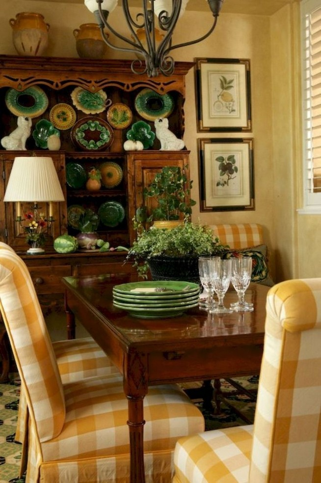 19 Fancy Farmhouse Dining Room Design Ideas 27