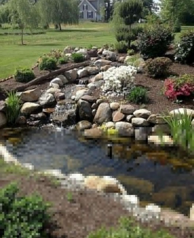 19 Gorgeous Backyard Ponds Water Garden Landscaping Ideas 20