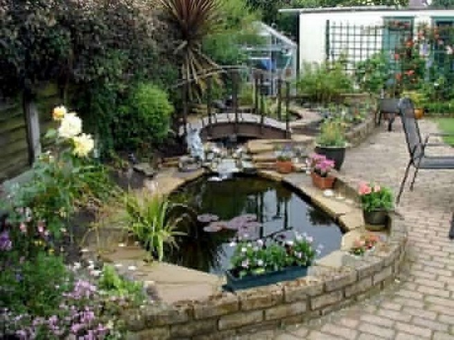 19 Gorgeous Backyard Ponds Water Garden Landscaping Ideas 39