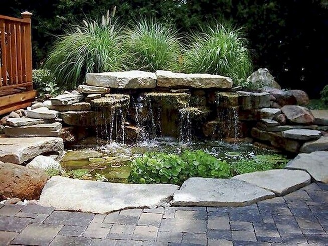 19 Gorgeous Backyard Ponds Water Garden Landscaping Ideas 48